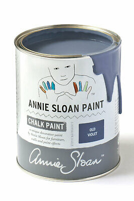 Annie Sloan Paint-1 Large Litre Tin Of Old Violet - Latest In Colour! • 39£