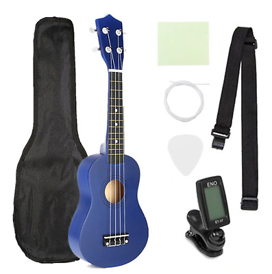 AU58.99 • Buy Ukulele  Bass Guitar Musical Instrument Ukelele Set Kits+Tuner+String+Strap+Bag