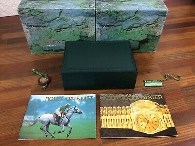 $ CDN275.88 • Buy Rolex Datejust 16234 Watch Box Set + Booklets + Tags + FREE SHIPPING