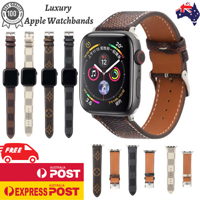 AU12.90 • Buy For Apple Watch Band Leather Strap IWatch Series 6 5 4 3 2 1 SE 38 40 42 44mm