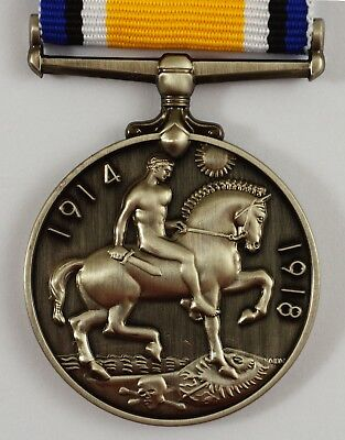 £8.99 • Buy Superb Full Size Replica British WW1 War Medal Imperial Forces Service/Campaign