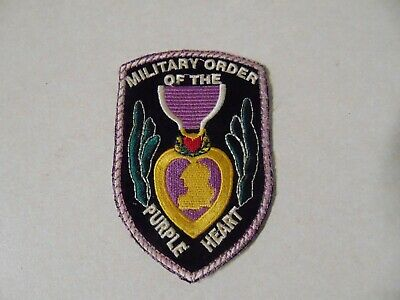 $12.99 • Buy Military Patch Old Vietnam Era Military Order Of The Purple Heart