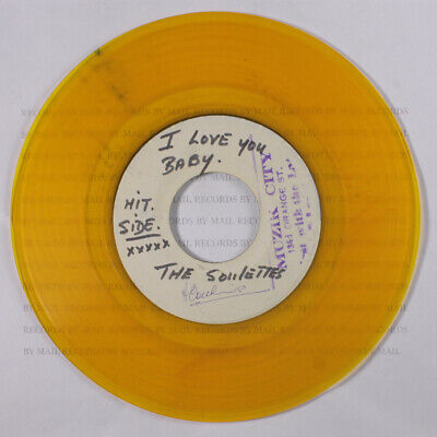 £236.05 • Buy SOULETTES / ROLAND ALPHONSO & SOUL BROS.: I Love You Baby / Song Of Love BLANK