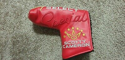 AU89.99 • Buy Titleist Scotty Cameron Special Select Blade Golf Club Putter Head Cover Generic
