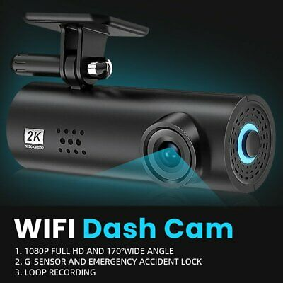 AU45.99 • Buy WIFI Car Dash Cam HD 1080P Hidden Car DVR Camera Recorder Night Vision G-Sensor