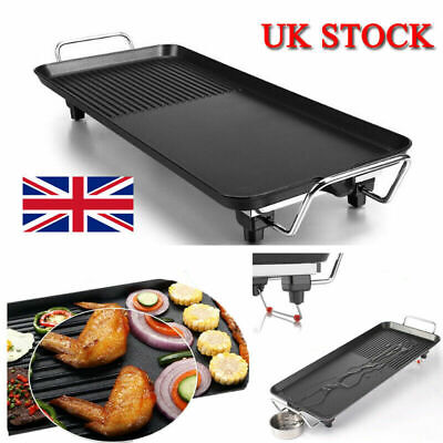£25.49 • Buy Portable Outdoor Garden BBQ Barbecue Grill Electric Table Top Griddle Cooking