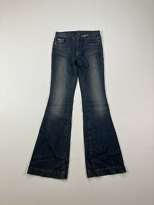 £29.99 • Buy ARMANI SKINNY FLARE Jeans - W28 L36 - Navy - Great Condition - Women's