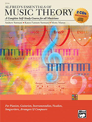 £31.89 • Buy Alfred's Essentials Of Music Theory: A Complete Self-Study Course For All Book &