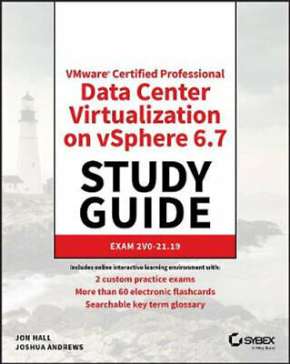 AU63.90 • Buy NEW VMware Certified Professional Data Center Virtualization On VSphere 6.7 Stud