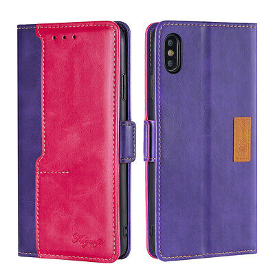 AU13.99 • Buy Business Wallet Case Flip Leather Cover For OPPO Reno 3 4 Pro 5G Find X2 Neo