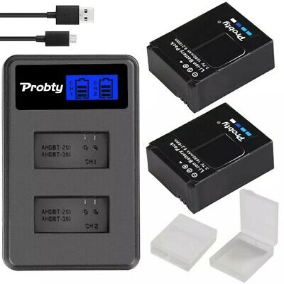$ CDN29.18 • Buy Original Probty Battery For Camera GoPro Hero 3, And LCD Dual Charger
