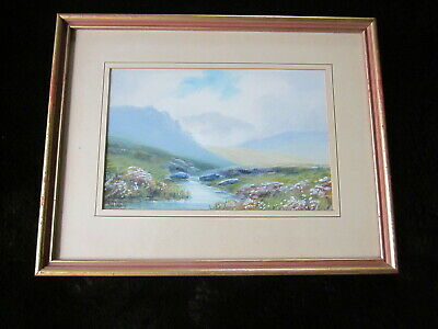 £35 • Buy Original Dartmoor Watercolour Painting R J LUGG Listed Signed Framed