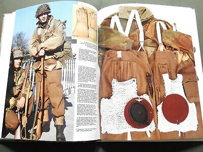 D-day Paratroopers British Canadians French  Ww2 Helmet Smock Reference Book • 29.45£