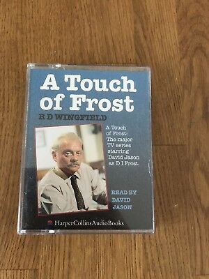 Double Cassette Story  - R D Wingfield - A Touch Of Frost Read By David Jason • 7.50£