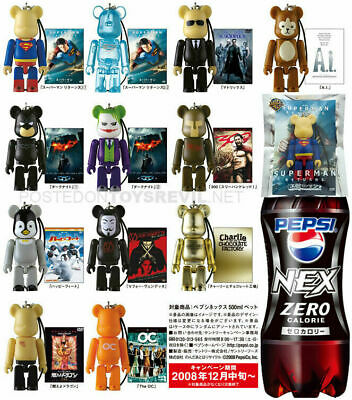 $64.80 • Buy BEARBRICK 70% Warner Bros. X Pepsi Nex Complete Set Of 12