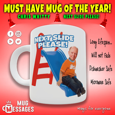 £9.99 • Buy Chris Whitty Appreciation Next Slide Please Mug - MUST HAVE MUG OF THE YEAR!!