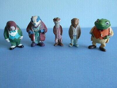 5 Typhoo Wind In The Willows Figures Hand Painted Collection • 19.95£
