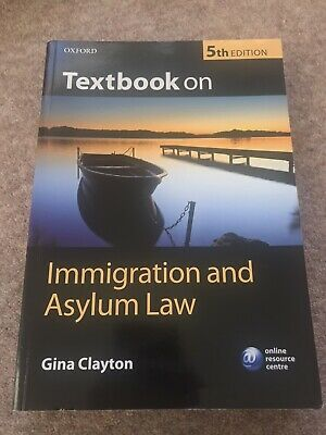 Textbook On Immigration And Asylum Law By Gina Clayton (Paperback, 2012) • 6£
