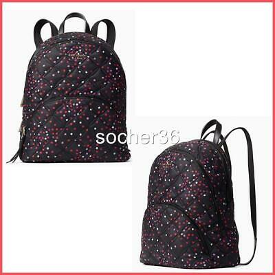 $ CDN150.10 • Buy Kate Spade Karissa Nylon Quilted Festive Confetti Large Backpack Nwt $329