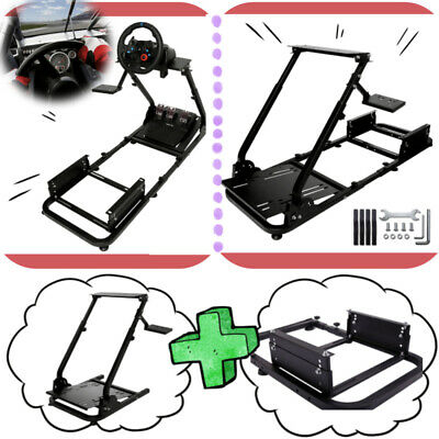 Steering Wheel Stand Racing Simulator Cockpit For Logitech G29 G920 Thrustmaster • 95.99£