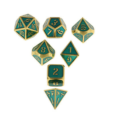 AU19.89 • Buy Polyhedral Dice Multi-sided D8 D4 D6 D10 D20 For   Dnd Game