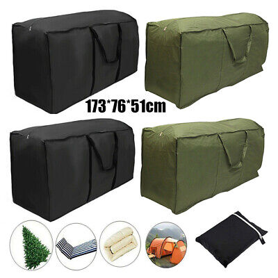 173cm Large Heavy Duty Christmas Tree Bag Artifical Storage Zip Holder Handles • 7.58£