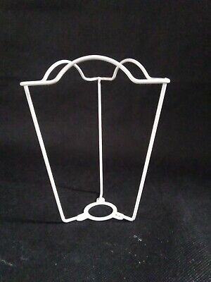 White 6  Shade Carrier For Lamps And Standard Lamps. Free Postage.  • 9.50£