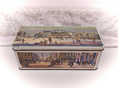 Vintage Biscuit Tin-Jacobs (Crackers)-London Scenes-after Thomas Shotter Boys • 14.99£
