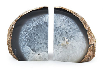 Natural Agate Bookends • 29.85£