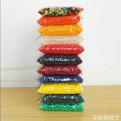 AU7.24 • Buy 5000 Orbeez  Large 14 Colours Soil Water Beads Vase Magic Balls Decor Crystal