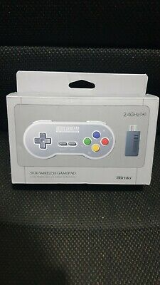 AU35 • Buy 8Bitdo SNES30 - GamePad Wireless Controller For SNES And SNES Classic