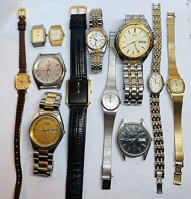 $ CDN119.05 • Buy SEIKO Lot Of 12 Watches Vintage Seiko Watch Group AS IS PARTS REPAIR Kinetic