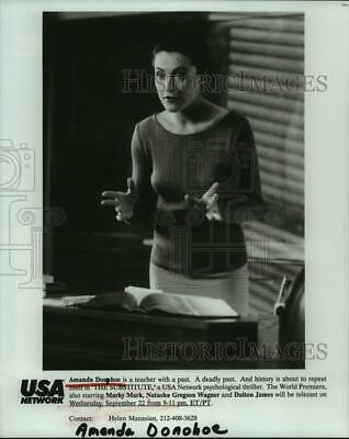 1993 Press Photo Actress Amanda Donohoe In  The Substitute  - Hcp39425 • 14.62£