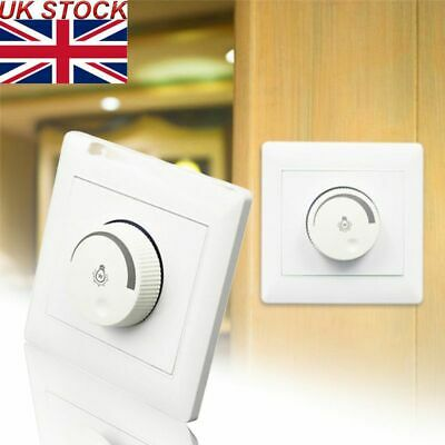 LED Dimmer Single Light Switch For Dimmable Lighting Lamp White 100W 220V-250V • 7.32£