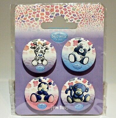 £5.50 • Buy Me To You, My Blue Nose Friends, New, Button Badges, Binky/Coco/Twiggy/Dot