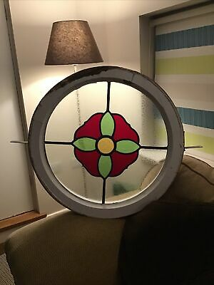 Circular Stained Glass Window • 60£