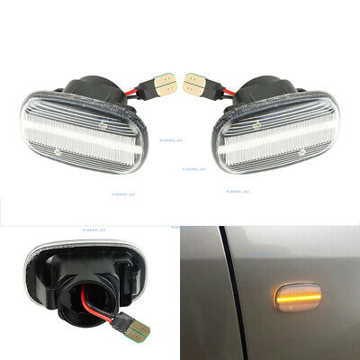$18.86 • Buy Pair Dynamic LED Side Marker Turn Signal Lights For Toyota Camry Corolla Lexus