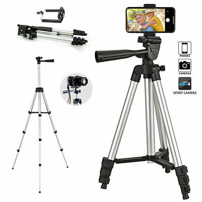 Professional Camera Tripod + Stand Holder +Bag For Smart Phone IPhone Samsung UK • 9.25£