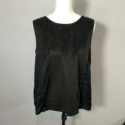 £8.67 • Buy The Nicole Richie Collection Women Tank Top Blouse Shirt Top Size Large - C151