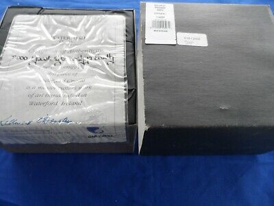 Waterford Disney Spaceship Earth Rare With Box Limited Edition COA • 217.07£