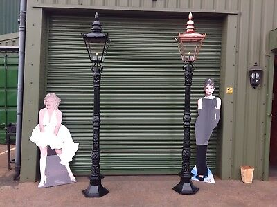 Victorian Cast Iron Lamp Post And Top. Very Few Left In Stock !! • 495£