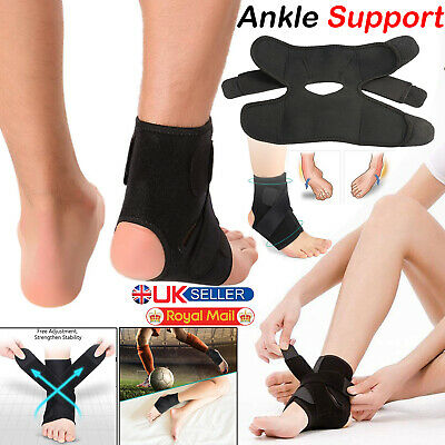 Ankle Support Bandage Strap Medical Wrap Foot Pain Sport Tendon Sprain Relief. • 4.32£