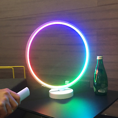 £39.99 • Buy LED Table Desk Lamp Modern Rgb Led Colour Changing Remote Control NEW LIMITED