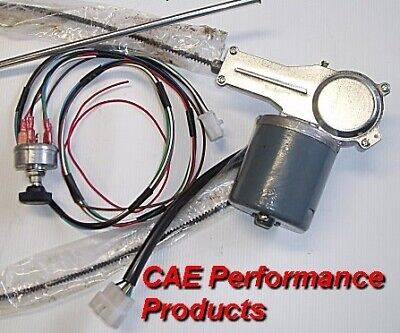 AU695 • Buy 12 Volt Electric Cable Drive 2 Speed Wiper Motor Kit Holden Fx Fj