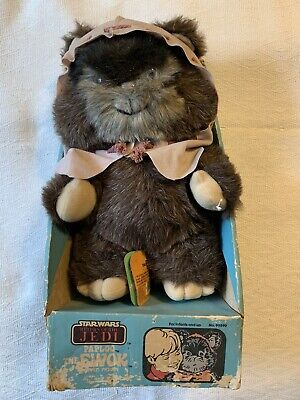 £107.88 • Buy Vintage Star Wars Paploo The Ewok Plush New In Box With Tags 1984 #99590 14 Inch