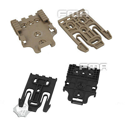 $ CDN10.86 • Buy Tactical FMA TB1042 BK/DE QLS Quick Locking System Kit For Safariland Holster