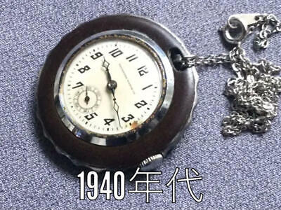TAVANNES(CYMA) 1940s Pocket Watch SWISS MADE VINTAGE ANTIQUE F/S FROM JAPAN • 59.99£