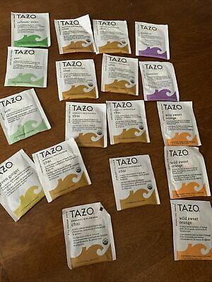 £2.84 • Buy Assorted Sample Pack Tea Collection 18 Tea Bags Tazo