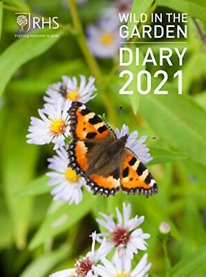 Royal Horticultural Society Wild In The Garden Diary 2021 • 10.79£