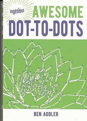 Awesome Dot To Dot Book, 159 Picture Puzzles For Adults & Older Children • 5.99£